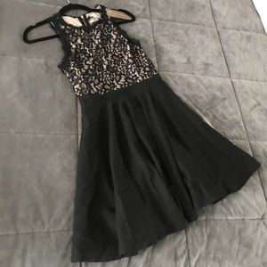 Sleeveless little black dress!